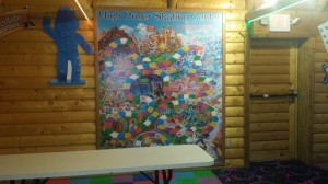 Giant candy land game board *Decoration Only*