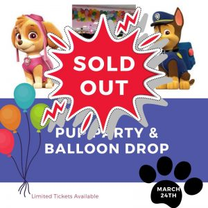 Balloon Drop with Skye & Chase SOLD OUT