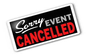 Event has been cancelled