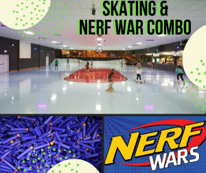 5:30-8pm Available for Private Rental, Skate or NERF Party