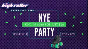 5-9pm NYE Party Just $20 per Family! Click for Details