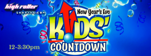 12-3:30pm NYE Party with Balloon Drop, Click for Details