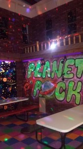 Planet Rock Birthday Party Room