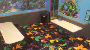 Under the Sea Birthday Party Room