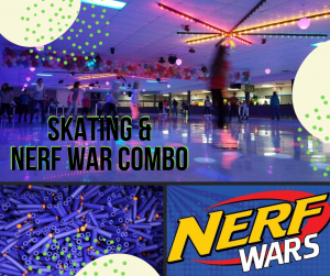 SOLD OUT Skate & Nerf Combo Event