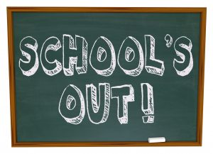 12-4pm School's Out, Open Early!
