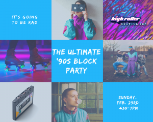 All Ages '90s Throwback Party, Click for Details